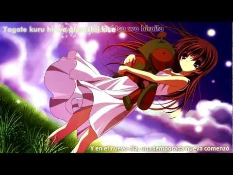 Clannad OST - Chiisana Tenohira - Riya - Lyrics & Sub Español