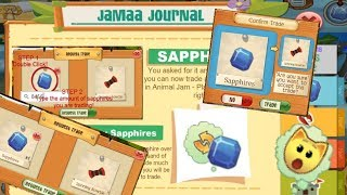 If You Could Trade Sapphires In Play Wild - Animal Jam