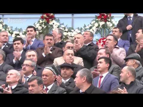 Tajik President Dances In The Persian New Year