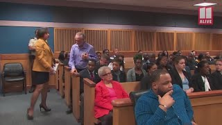 Father speaks at sentencing of gang member convicted in son's torture, murder