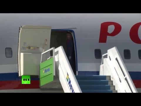 Прилёт Владимира Путина