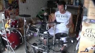 Générique Goldorak -Accours vers nous prince de l'espace - Enriqué -Drum cover