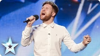 Micky Dumoulin sings Bring Him Home | Britain's Got Talent 2014