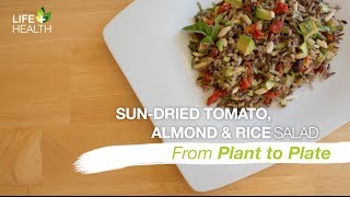 Sun Dried Tomato, Almond & Rice Salad