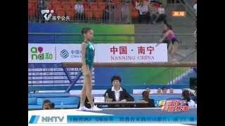 SHANG Chunsong & YAO Jinnan AA Floor At Chinese Nationals 2014