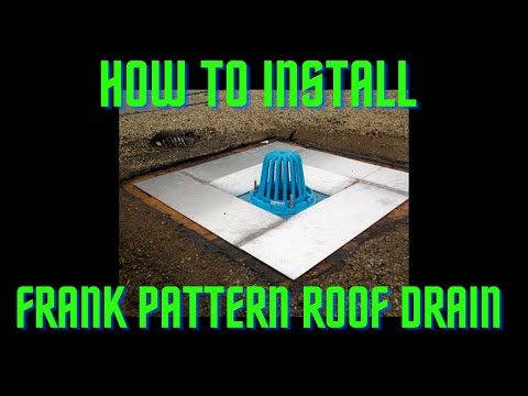 #1 ROOF DRAINS   How To Sump A Roof Drain By The Experts At All Tech Plumbing
