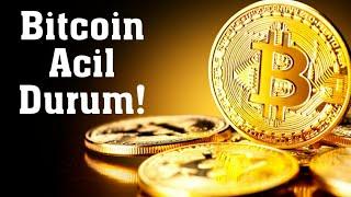 #Bitcoin Analiz - Acil durum videosu! Btc Teknik Analiz