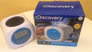Discovery Kids Sound Machine Projection Alarm Clock/Night Light - Review/Overview