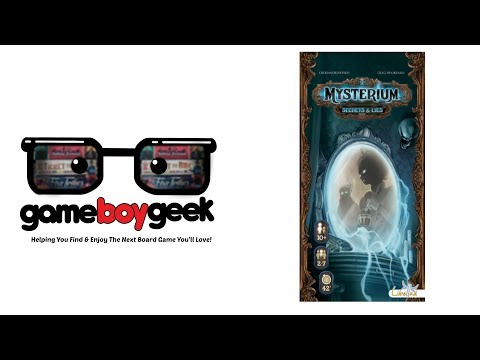 Mysterium: Secrets & Lies Review with the Game Boy Geek