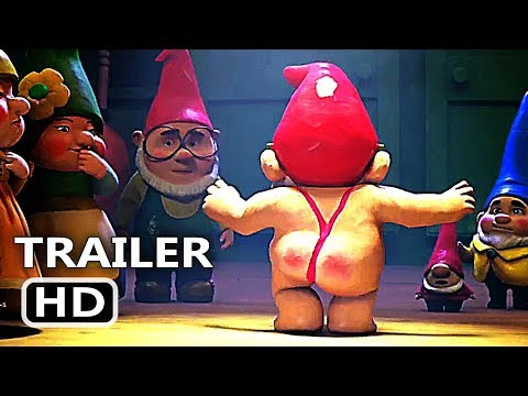 SHERLOCK GNOMES Official Trailer (2018) Johnny Depp Animation, Kids Movie HD
