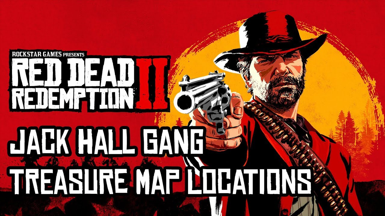 Red Dead Redemption 2 All Jack Hall Gang Treasure Map