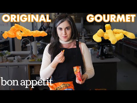 Pastry Chef Attempts To Make Gourmet Cheetos | Bon Appétit
