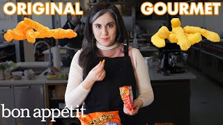 connectYoutube - Pastry Chef Attempts To Make Gourmet Cheetos | Bon Appétit