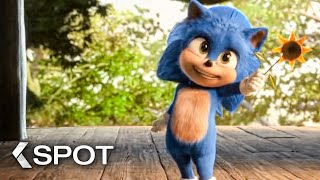 SONIC: The Hedgehog - Baby Sonic TV Spot & Trailer (2020)