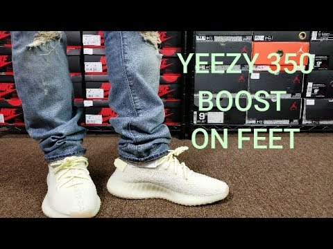 4f68b885de984 ADIDAS YEEZY BOOST 350 V2 BUTTER REVIEW   ON FEET - YouTube