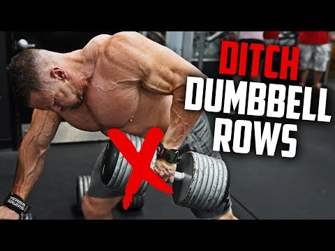 Ditch Dumbbell Rows - DO THESE INSTEAD! | Tiger Fitness