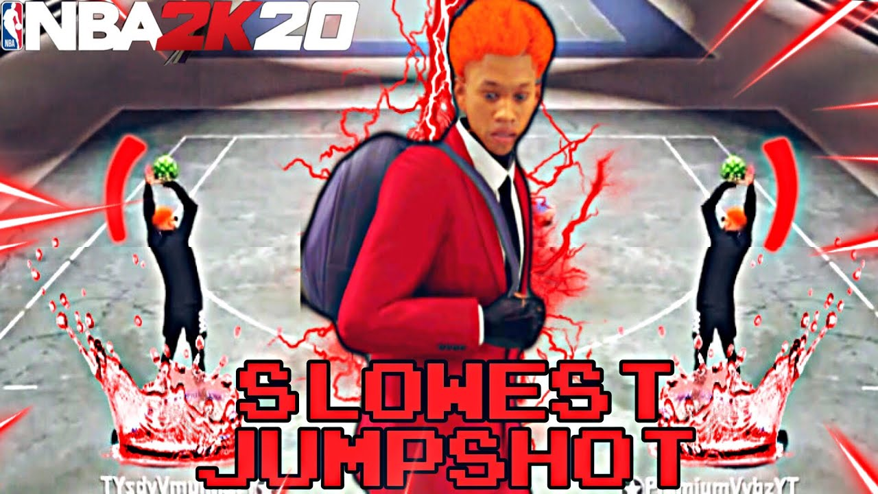 I USED THE SLOWEST JUMPSHOT IN NBA2K20 and I was SHOCKED!