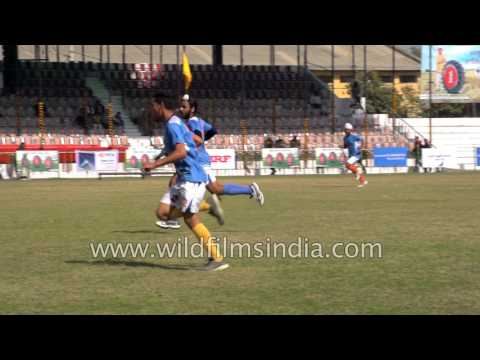 Punjabi boys play India's National Game 'Hockey'