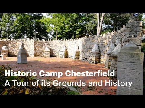 Historic Camp Chesterfield A Tour of its Grounds and History