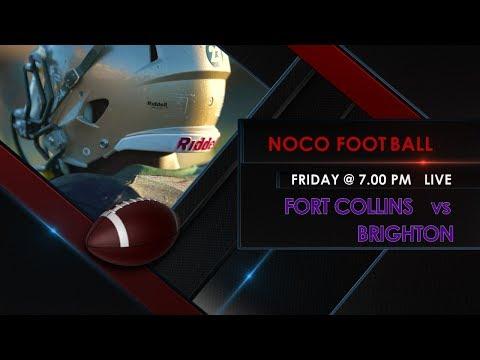 NoCo FOOTBALL: Fort Collins HS vs Brighton HS - 9/29/17