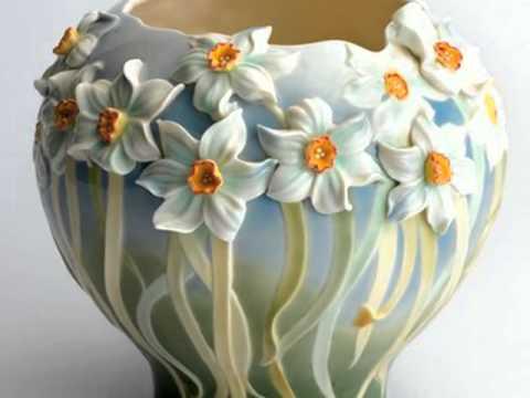 Холодный фарфор ваза своими руками из 422