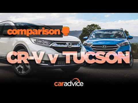 2018 Honda CR V v Hyundai Tucson comparison review