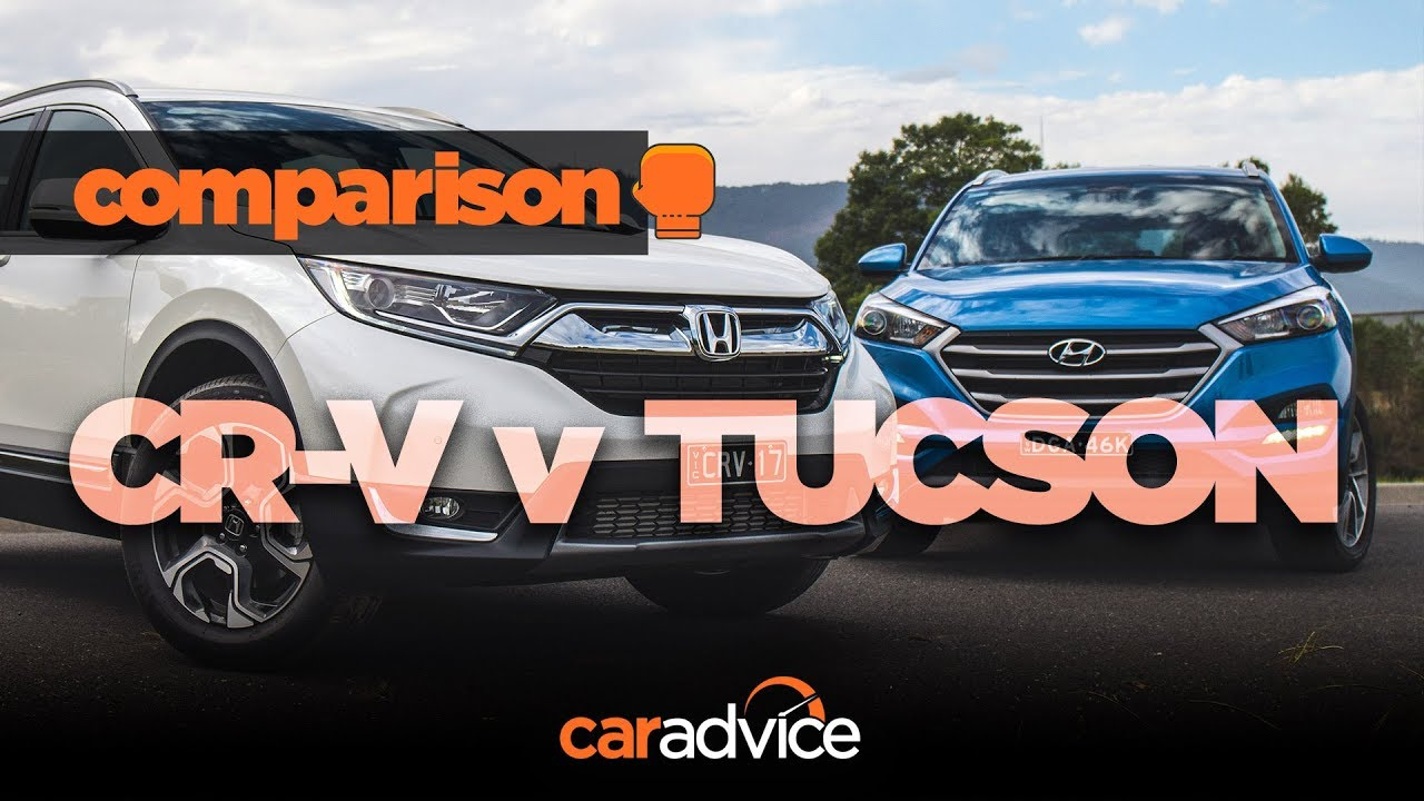 2018 Honda Cr V V Hyundai Tucson Comparison Review Caradvicecom