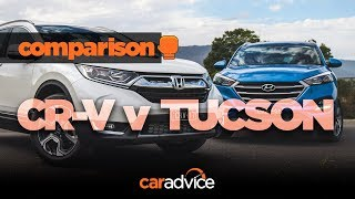 2018 Honda CR-V v Hyundai Tucson comparison review