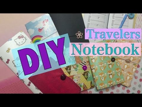 DIY Travelers Notebook & Fauxdori | I'm A Cool Mom