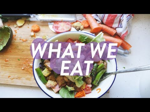 What We Eat in a Day | Cheap and Healthy