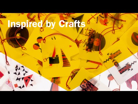 Inspired by Crafts: Award Winning Illustration, Typography, Writing & Art Direction