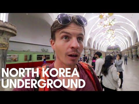 Inside the North Korea Subway - SURREAL (May 2019)