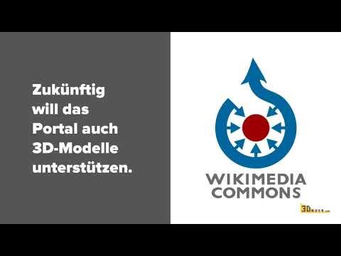 0 - Wikimedia Commons ermöglicht Upload von 3D-Modellen