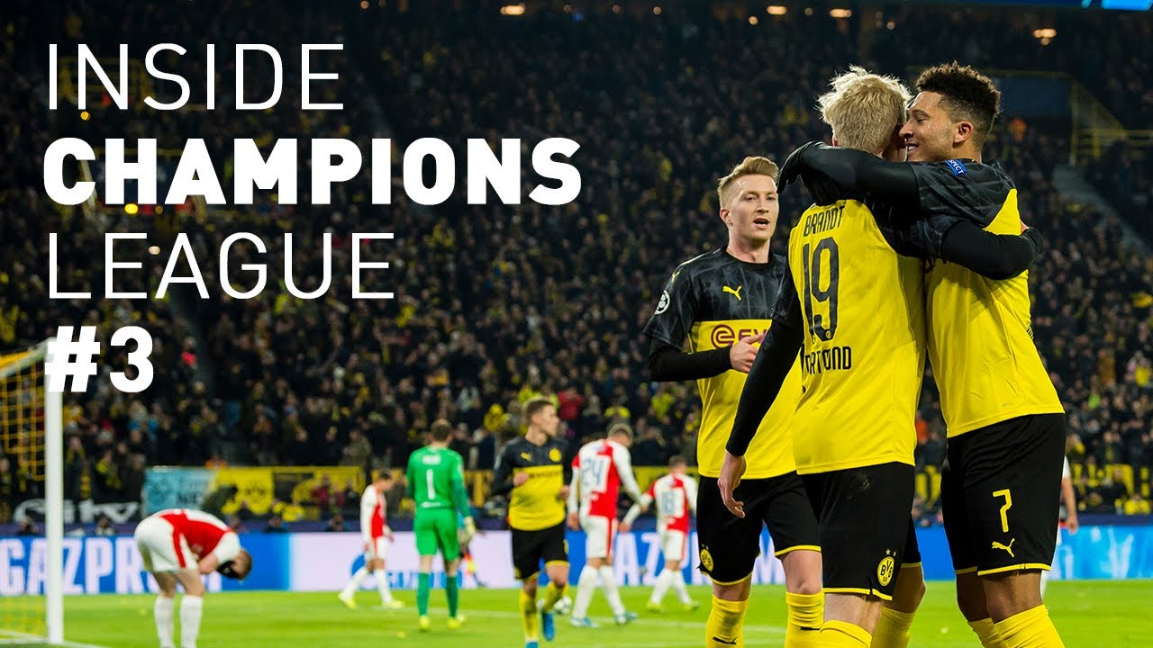 Der Einzug ins Achtelfinale! | BVB - Slavia Prag 2:1| Inside Champions League