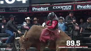 15/15 Bucking Battle Highlights from Glendale: Alisson De Souza Shines