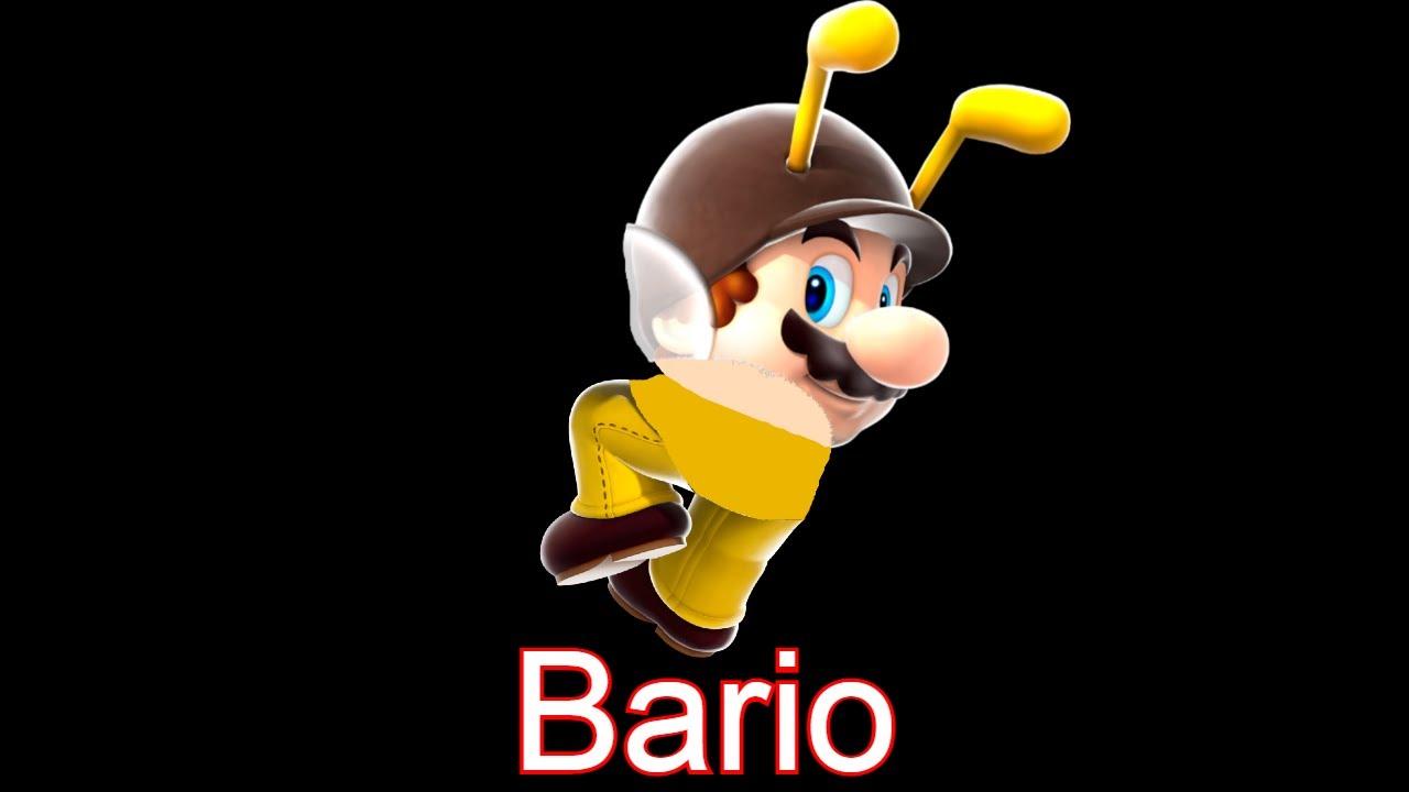 Hamburger Meme but its Bee Mario
