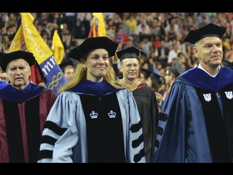 Wharton Undergraduate Graduation Ceremony 2015
