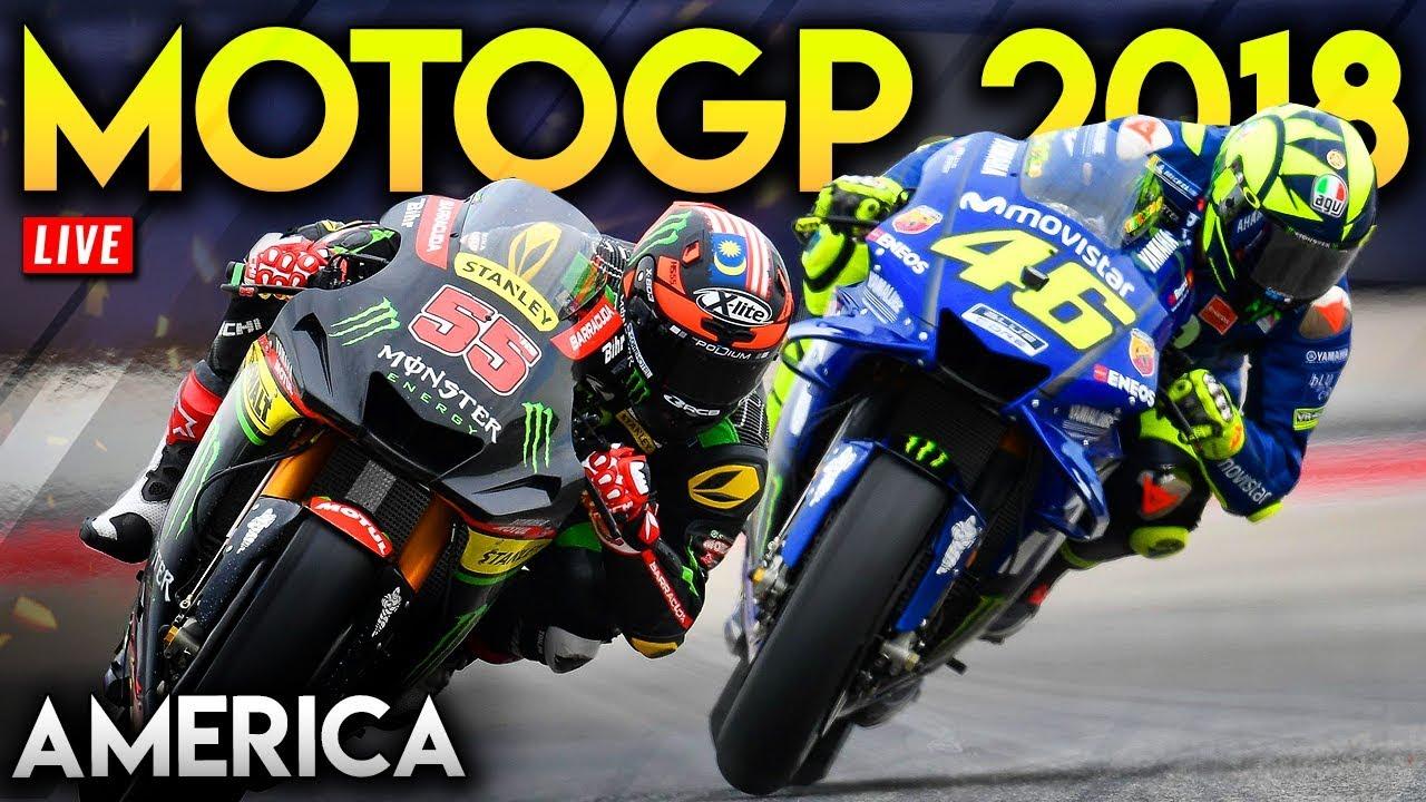 MotoGP America 2018 Full Race (MotoGP 2018 Mod Gameplay Live Stream - COTA Texas) - YouTube