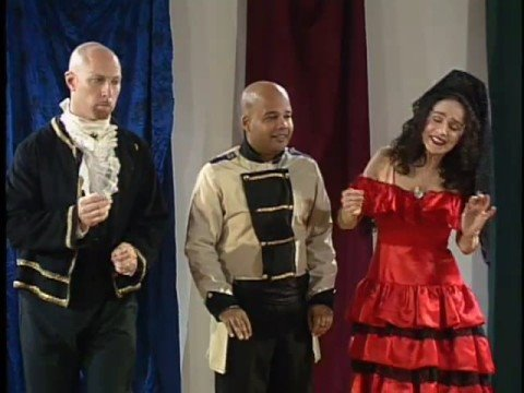 Marjorie sings Zitti Zitti from THE BARBER OF SEVILLE