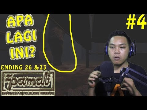 POCONG?? (ending 26 & 33) #4 - PAMALI GAME HORROR INDONESIA