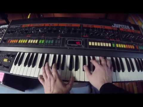 Roland Jupiter 6 and Jupiter 8 - Comparing Similar Patches (No FX)