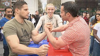 Arm Wrestling at Washington Square NYC 2019