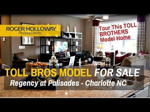 Regency At Palisades Model Home For Sale From Toll Brothers - Charlotte NC
