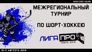 Межрегиональный турнир по шорт-хоккею Лига Про. Тверь. 10 августа 2019г.