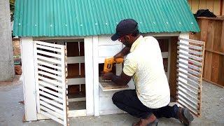 How to make Pigeons loft | Pigeon Coop Self Construction Plans