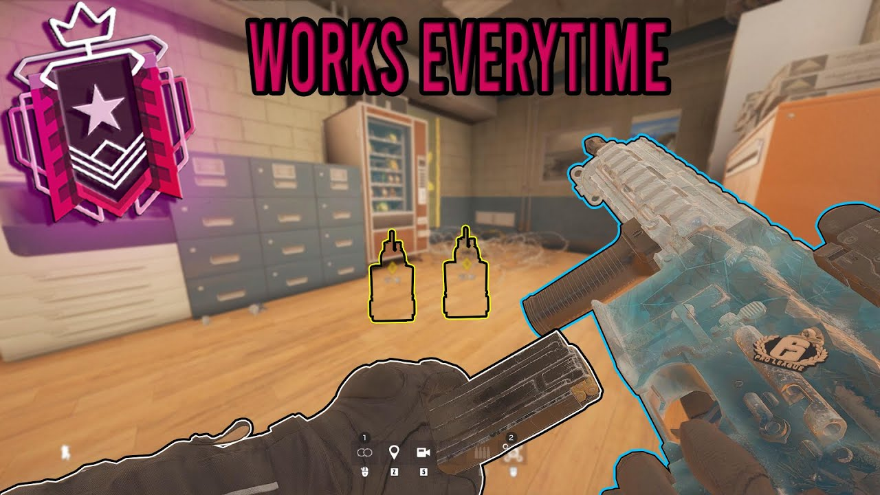 The BEST Strat in Champion Ranked - Rainbow Six Siege thumbnail