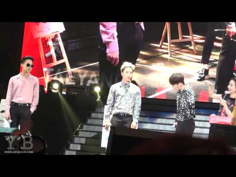 140531 Guangzhou Fanmeeting BIGBANG - BINGO mission 1. Post it game