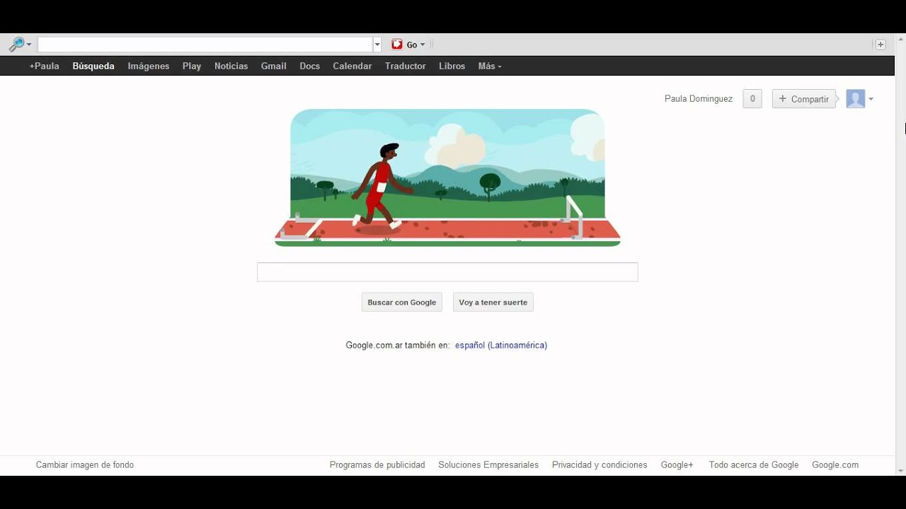 El Logo De Google Por Los Juegos Olimpicos 2012 Por La Diciplina De