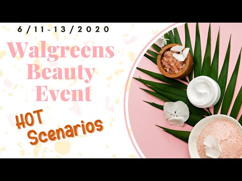Walgreens Beauty Event Scenarios I $9+ Money Maker I All Digital Coupons