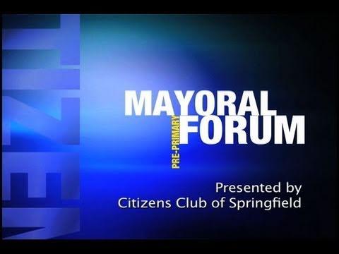 Citizens Club Primary Mayoral Forum